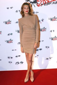 Daria Werbowy: style file  - HarpersBAZAAR.co.uk