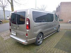 Luxe aan buitenzijde Opel Vivaro L2, Luxe laadruimtebescherming aan binnenzijde.