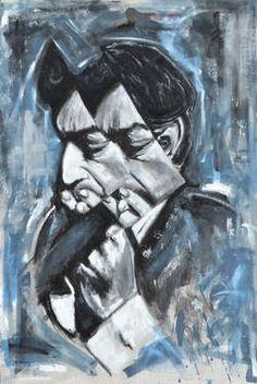 """Saatchi Art Artist Mathieu Morin; Painting, """"G"""" #art http://www.saatchiart.com/art/Painting-G/665052/2142360/view"""