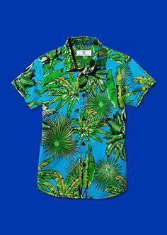 Tropical Print #Shirt #Versace #YoungVersace