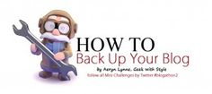 How to Back Up Your Blog –  #Blogathon2