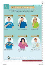 6 émotions en langue des signes - Mon Quotidien, le seul site d'information quotidienne pour les 10 - 14 ans !
