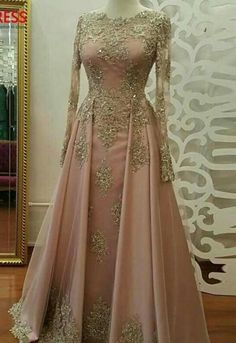 Sexy Long Prom Dresses With Gold Lace, Long Sleeve Prom Dress,Sexy Evening Dress, Beadings Floor Length Satin Formal Party Gowns, Lace Evening Dresses Prom Dresses Long Pink, Elegant Bridesmaid Dresses, Long Sleeve Evening Dresses, Prom Dresses Long With Sleeves, A Line Prom Dresses, Tulle Prom Dress, Cheap Prom Dresses, Evening Gowns, Evening Party