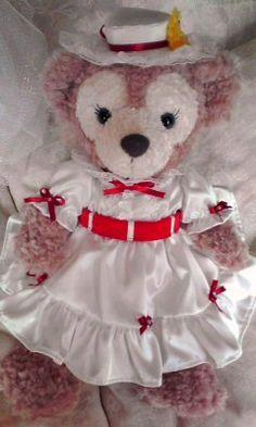 シェリーメイ メリーポピンズ Shellie May Mary Poppins Disney Girls, Disney Love, Walt Disney, Cuddles And Snuggles, Cuddling, Duffy The Disney Bear, Bear Costume, Polymer Clay Charms, Mary Poppins