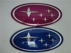 [RECOMMENDED] Blue & Purple Subaru Sticker, 3D Subaru Logo Decal For Head & Tail Subaru Emblem $9.99