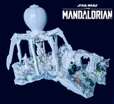LEGO STAR WARS THE MANDALORIAN Season 2 - Ice spider attac… | Flickr