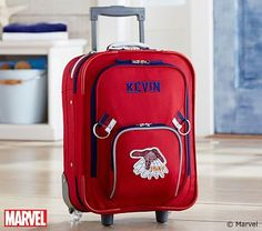 Small Spider-Man Luggage #PotteryBarnKids