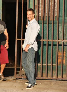 Paul Walker.... Love your smile.