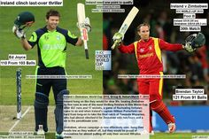 ICC WORLD cUP 2015:  Ireland v Zimbabwe, World Cup 2015, Group B, Hobart, March 7, 2015  Ireland clinch last-over thriller