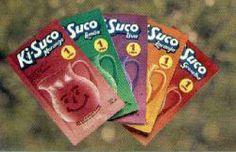 Ki sulco , esse era sensação dos anos 90 e 200 , tinha tanto corante que ficava a cor na sua língua por dias