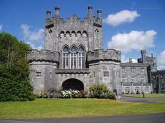 kilkenny castle - Google Search Kilkenny Castle, Alter, Notre Dame, Ireland, Mansions, House Styles, Building, Travel, Google Search