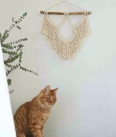 #vintagemacrame #nurserydeocr #dormwalldecor #bedroomdecor #macramewallhanging #fiberwallart #wovenwalldecor #1970stapestry #smalltapestry #macramecurtain #macramemural #weedingbackdrop #etsy #etsyfinds #macramepattern #crochetwallhanging #nurserywalldecor #bohowalldecor #longwallhanging #bohemian #interiordecor #minimalist #modernmacrame #hippiewedding #bohoweddingdecor #giftsformom #giftsforher #housewarminggifts #handmade #handmadegifts #longwallhanging #wallcharm #minimacrame… Crochet Wall Hangings, Tapestry Crochet, Tapestry Weaving, Rustic Wedding Backdrops, Boho Wedding Decorations, Large Macrame Wall Hanging, Macrame Plant Hangers, Small Tapestry, Macrame Patterns