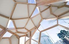 Sumika Pavilion | project by Tokyo Gas which invited Japanese architects Sou Fujimoto, Terunobu Fujimori, Taira Nishizawa, and Toyo Ito