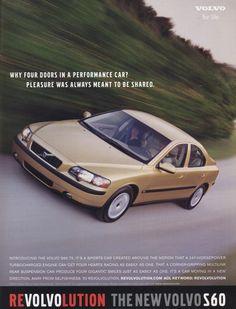 2001 Volvo S60 ad