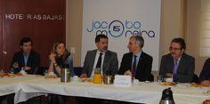 Reunido con el Conselleiro de Industri, AJE Pontevedra y Aempe
