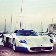 Maserati MC12 at the yacht club