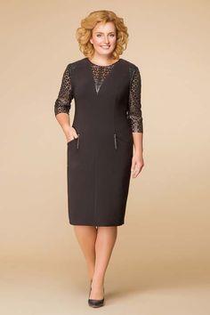 Платья для полных женщин белорусского бренда Romanovich Fashion Style 2017