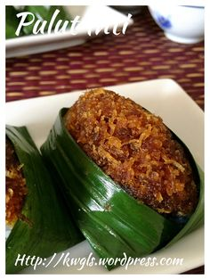 Glutinous Rice With Shredded Coconut - Pulut Inti (椰丝糯米糕)#guaishushu #kenneth_goh    #pulut_inti  #椰丝糯米糕