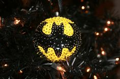 Batman Sequin Ornament by dallairedesigns on Etsy