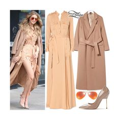 Gigi Hadid found on Polyvore featuring women's fashion and dresses