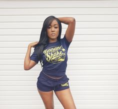 Banana Protein Shake Club unisex Organic Cotton T-shirt. Featuring the Banana Protein Shake Club design screen printed across the chest. Chilled, stylish look and feel for the gym and casual wear. Really soft and comfy organic cotton. Cute Gym Outfits, Organic Cotton T Shirts, Vintage Shorts, Cute Shorts, Gym Wear, Casual Wear, Sportswear, Damian Marley, Stylish