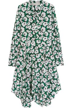 Stella McCartney | Rita floral-print silk crepe de chine dress | NET-A-PORTER.COM