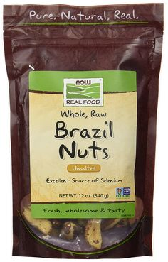 NOW Foods Brazil Nuts, Raw, 12-Ounce Bag >>> Want additional info? Click on the image.