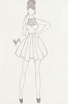 Fashion sketches 694328467538934927 - Fashion drawing Source by Fashion Drawing Tutorial, Fashion Figure Drawing, Fashion Drawing Dresses, Fashion Illustration Dresses, Drawing Fashion, Drawings Of Dresses, Dresses To Draw, Fashion Illustration Tutorial, Dress Design Drawing