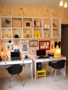 Quer deixar seu home office massa sem gastar horrores? Vem pro blog se inspirar!