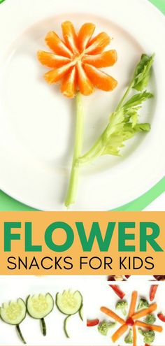 These flower snacks are fun and super easy to create with kids and build fine motor skills in the kitchen. Whether kids help in the kitchen for fun or for the benefits of building executive functioning skills or fine motor development, there are many reasons to make these flower healthy treats! Add these cooking with kids activities to your Spring occupational therapy toolbox. Kids Cooking Recipes, Cooking With Kids, Kids Meals, Family Meals, Crockpot Recipes, Healthy Snacks For Kids, Healthy Treats, Sensory Activities, Activities For Kids