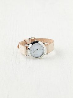 Free People Feather Print Leather Watch - $125.00