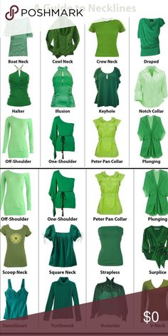 Fashion infographic : Practice making all these pretty necklines for fashion design fashion illustration and sewing. What a great guide and visual to have! Fashion Terminology, Fashion Terms, Fashion 101, Fashion Outfits, Womens Fashion, Fashion Clothes, Stylish Clothes, Skirt Fashion, Style Fashion