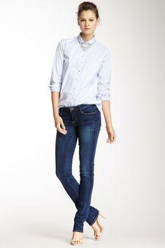 Earnest Sewn Decca Anja Straight Leg Jean