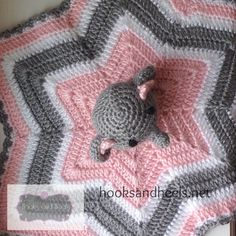 Crochet Baby Elephant Blanket Pattern 67 Ideas For 2020 Baby Girl Crochet, Crochet For Kids, Free Crochet, Crochet Lovey Free Pattern, Crochet Afghans, Crochet Patterns, Crochet Ideas, Baby Patterns, Crochet Security Blanket