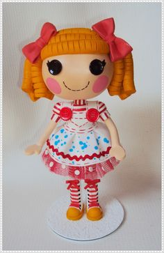 EVA CHARMOSA: LALALOOPSY Lalaloopsy Party, My Doll House, Raggedy Ann, Felt Dolls, Toys For Girls, Tweety, Princess Peach, 3 D, Doll Clothes