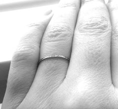 Stacking Ring Sterling Silver Stacking Rings by GirlBurkeStudios