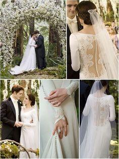 Image result for bella's wedding dress