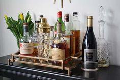 modern home bar cart - Google Search