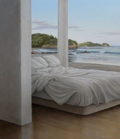 Sea & Bed by NZ artist Neil Driver