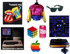 The 1980's saw the mass popularity of the personal computer, video games, cable television and a number of pop fads in clothing and lifestyle.