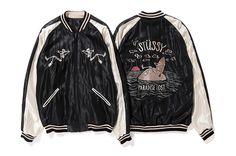 Stussy x Tailor Toyo Reversible Hand-Embroidered Sukajan Jacket 2017 Spring Japan California