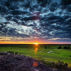 Ubirr, Kakadu National Park, Australia Photo: