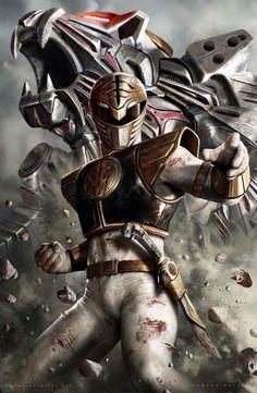 Mighty Morphin Power Rangers - White Ranger                                                                                                                                                                                 More