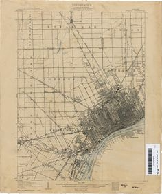 Hazel Park, Michigan is located in the southeast corner of Oakland County. Sharing a border with the City of Detroit, Hazel Park is one of . Detroit Map, Detroit History, State Of Michigan, Detroit Michigan, Environment Map, Hazel Park, The Warlocks, Old Maps, Reading