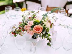 Romantic tablescape ideas.  Utah backyard wedding, photo by Leo Patrone.