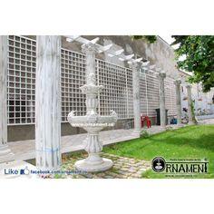 Coloana Ornamentala din beton in Stilul Grecesc Ionic Columns, Arch, Outdoor Structures, Garden, Decor, Houses, Greece, Longbow, Garten