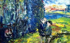 Jack Butler Yeats, Fine Irish Artist, at the Oriel Gallery, Dublin. Irish Painters, Jack B, Irish Art, The World's Greatest, Contemporary Paintings, Impressionist, Butler, Original Artwork, Modern Art