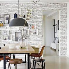 vtwonen vliesbehang Bricks lichtgrijs (dessin 2234-04) kopen? Verfraai je huis & tuin met vtwonen behang van KARWEI