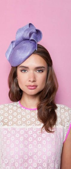 Gina Foster Millinery - Violet.