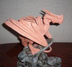 clay dragon sculptures - Google Search